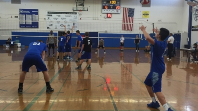 Men's volleyball falls to Elk Grove in five sets
