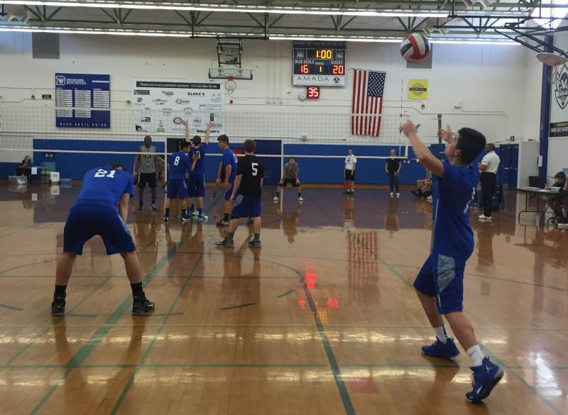 Volleyball v. Elk Grove