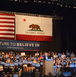 Bernie Sanders rally fills Cal Expo to capacity