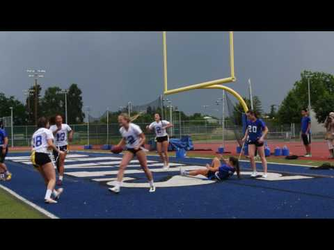 HIGHLIGHTS: Seniors win Powderpuff