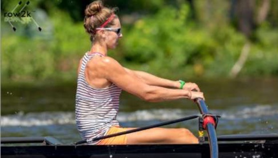 Kaytrina Niva was one of 18 rowers in the United States chosen to represent her country in the Netherlands last Sunday (Courtesy: www.row2k.com).