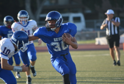 PHOTOS: Freshman football crushes Christian Brothers