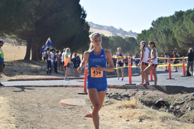 Cross country team breaks records at Lagoon Valley