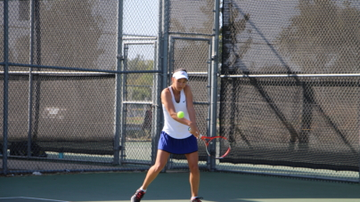 Tennis team loses winning streak to St. Francis