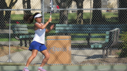 Women's tennis serves Elk Grove