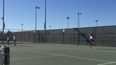 Women's tennis defeats Pleasant Grove