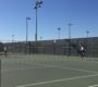 Junior Nancy Avoce hits a forehand in the Davis' 8-1 win over Pleasant Grove.