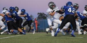 Varsity football team falls to Woodcreek Timberwolves