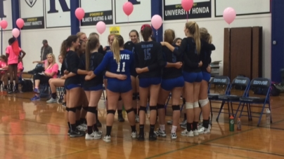 Volleyball dominates over Grant
