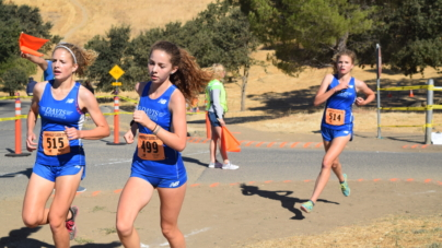 Cross country competes at Clovis