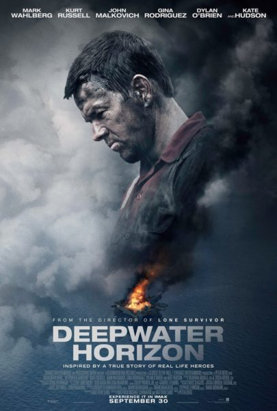 """Deepwater Horizon"", out September 30 and now playing, makes the infamous BP Oil Spill personal by focusing on the people that fought for, and lost, their lives as a result of the oil blowout."