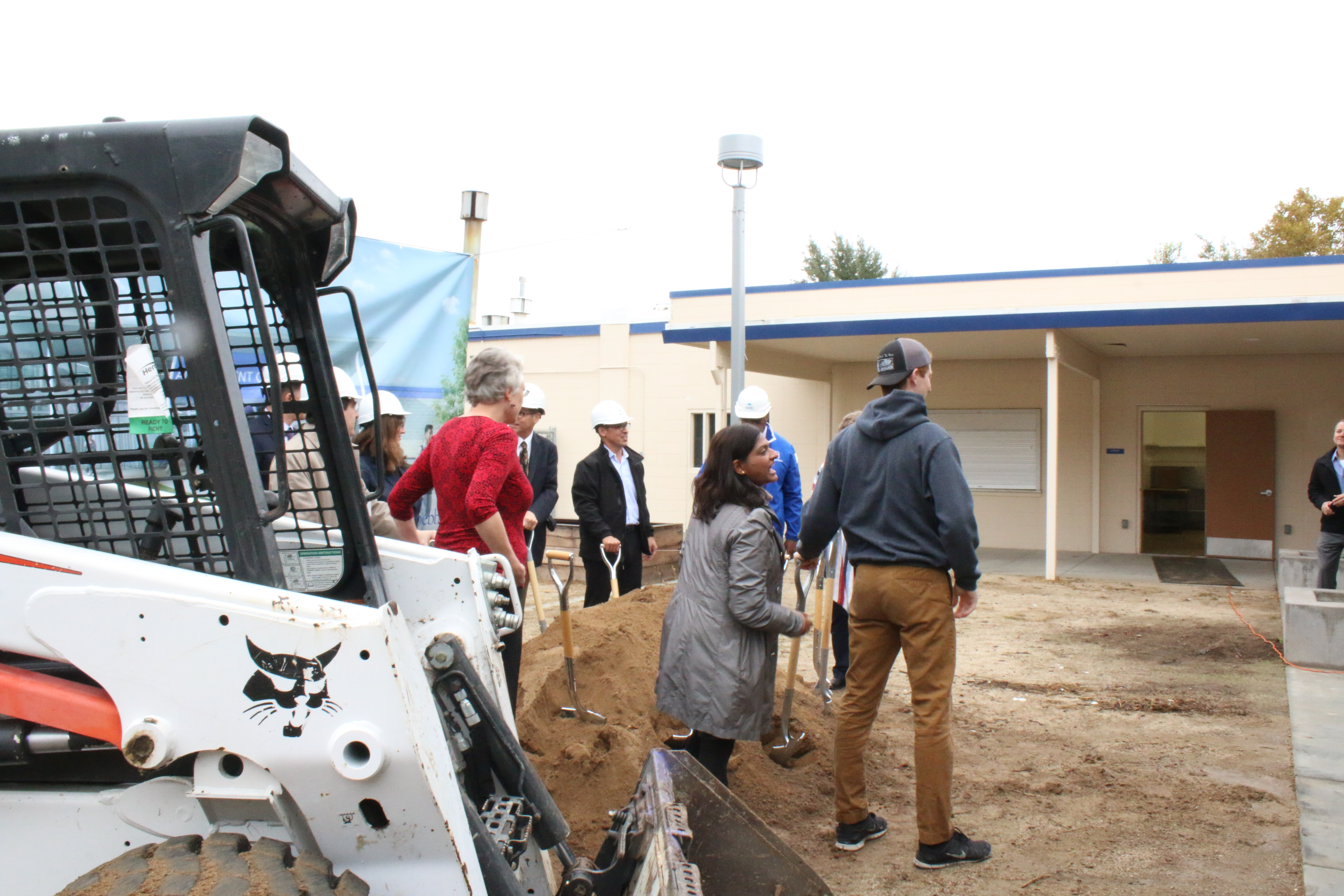 All Student Center presented at Groundbreaking