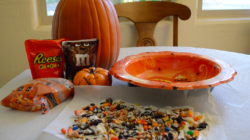 DIY: Halloween Candy Bark