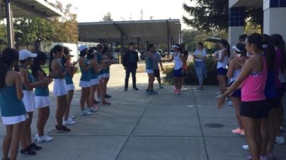 Women's tennis strikes Sheldon down