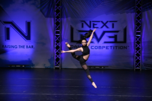 Hannah Huang competes in the Next Level Dance Competition in March with the same piece that won her the judges choice at the So You Think You Can Dance competition at Davis High. (courtesy photo: Hannah Huang)