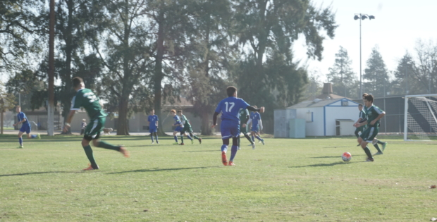 Men's soccer ties with Dixon
