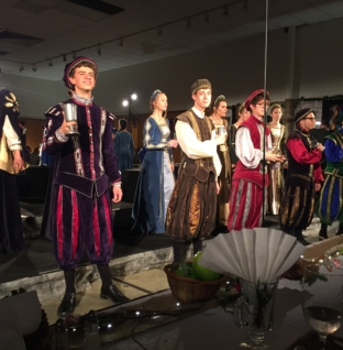 VIDEO: Madrigals host 48th annual dinner