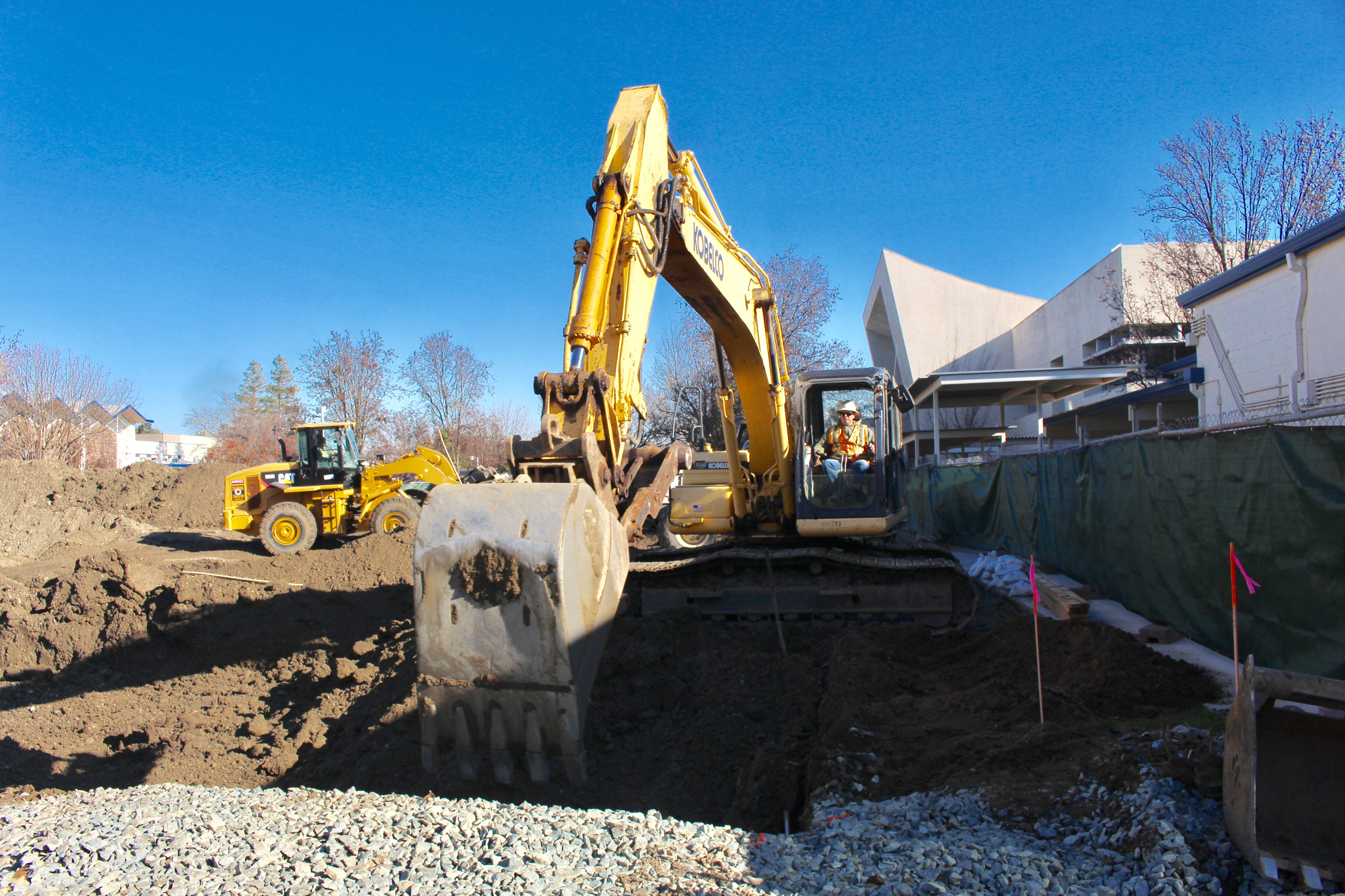 Construction on All Student Center continues, creating opportunities for students
