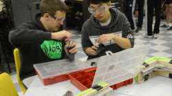 Robotics prepares for competition season