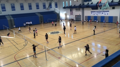 Badminton holds tryouts for first time