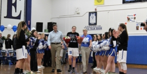 Women's basketball celebrates Senior Night