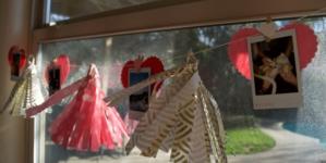 DIY: Valentine's Day tassel garlands