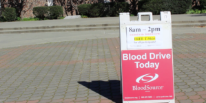 VIDEO: Students participate in blood drive