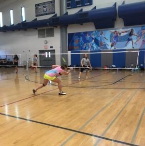 Badminton wins against Rodriguez