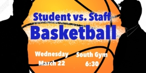 Students to take on staff in basketball