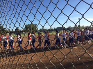 Devils softball shut down by St. Francis