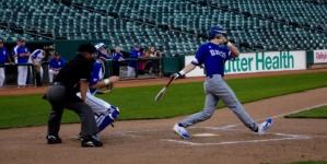 Baseball steals 5-2 win over Rocklin at Raley Field