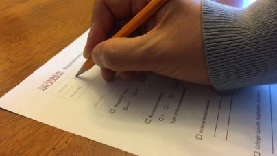 Seniors reflect on college application process