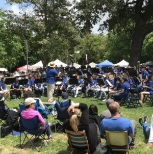 Davis band ensembles delight with the Festival of the Arts Concert