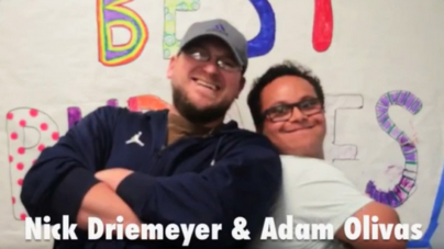 An unlikely friendship: Adam Olivas and Nick Driemeyer