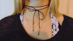 Chokers coming back into style