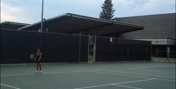 Varsity Tennis Welcomes Freshmen