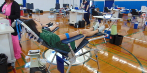 Blood drive succeeds in saving lives