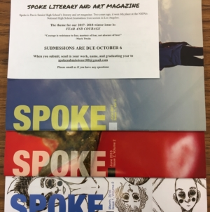 Spoke Magazine starts up as students settle in