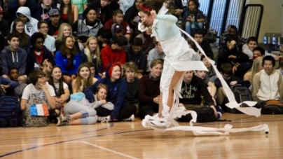 Spirit Week kicks off with a booming rally