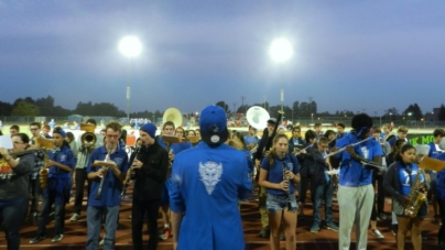 Pep band prepares for homecoming performance