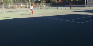 Women's tennis overcomes obstacles, beats Monterey Trail