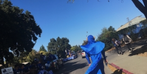 Blue Devils show school spirit at annual homecoming parade
