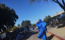Homecoming parade finishes with class floats