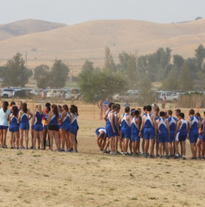 Cross country confronts state meet course at Clovis Invitational