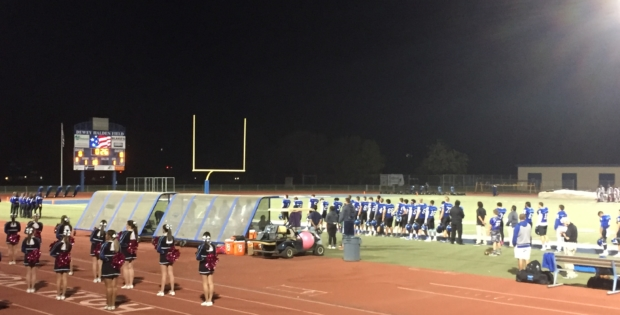 Wildcats overwhelm Blue Devils on homecoming game night