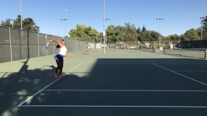 Women's tennis sinks to St. Francis