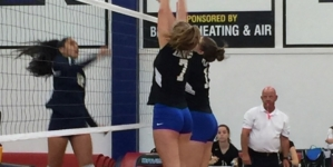 Varsity women's volleyball loses, JV wins in two nail-biters against Elk Grove