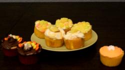 DIY: Thanksgiving Cupcakes