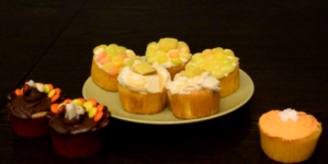 DIY: Thanksgiving Cupcakes