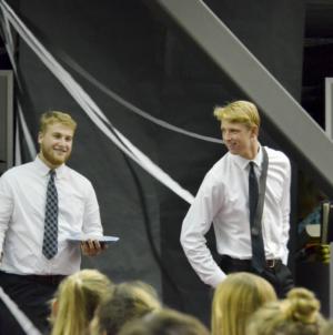 Davis High seniors sell for high marks at annual Rent-a-Senior